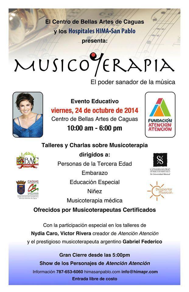 Expo de Musicoterapia: El Poder Sanador de la Música #sondeaquipr #musicoterapia #cba #caguas #expospr