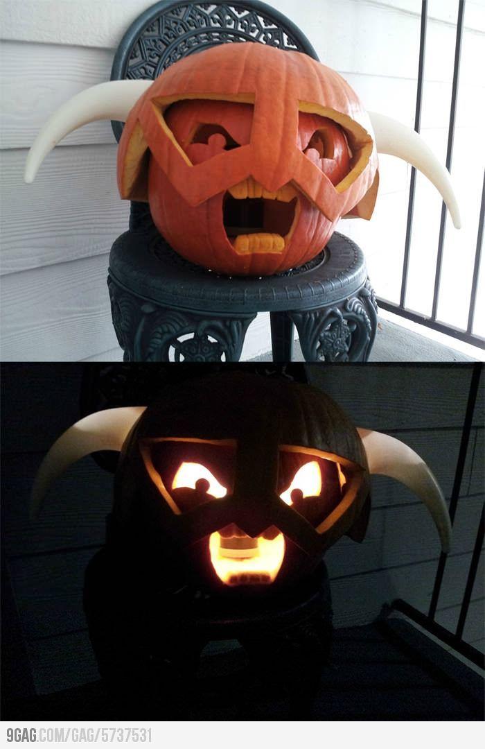 Skyrim pumpkin halloween everyday pinterest