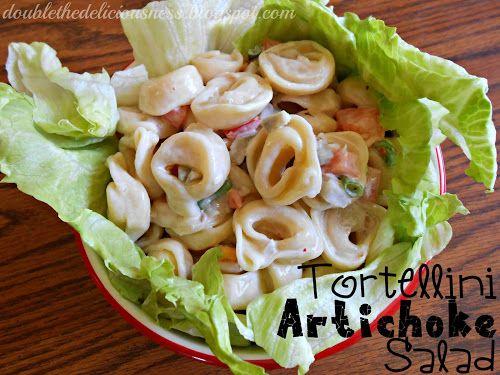 Double the Deliciousness: Tortellini Artichoke Salad