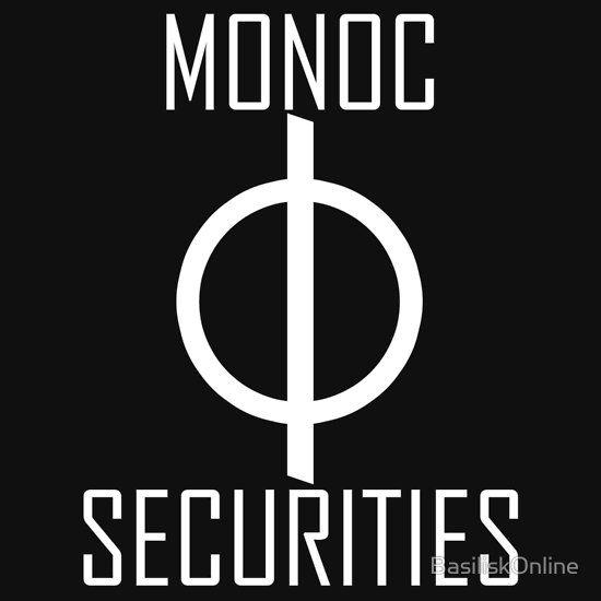 Monoc Securities T Shirt By Basiliskonline In 2020 Dresden Files Dresden Book Characters