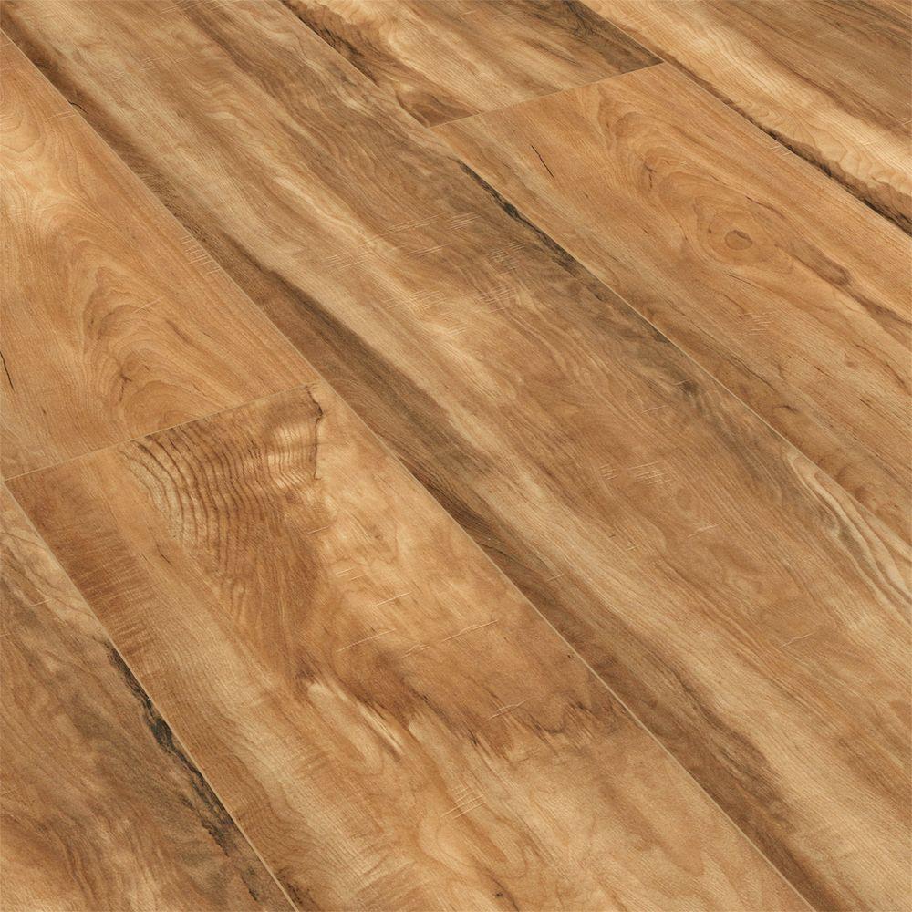 Cumberland Falls Hand Scraped 12mm Texas Natural Hickory Laminate Laminate Floor Old