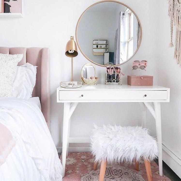 7 Best Ikea Hacks For Every Budget Shnordic Lifestyle In 2020 Dressing Table Design Simple Dressing Table White Dressing Tables
