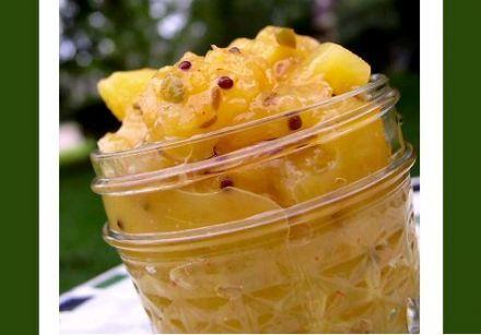 Orange and Pineapple Chutney Recipe - this is amazing!