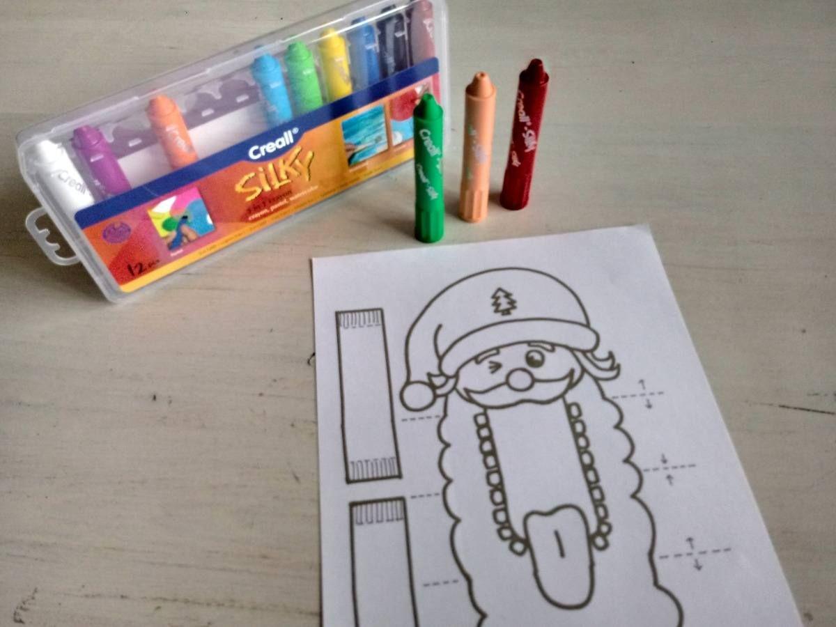 Kerstman En Rudolf Het Rendier Knutselen Met Kerst Kleuren Knutselen Creametkids Mirelle Creametkids Rendier Knutselen Knutselen Rendier