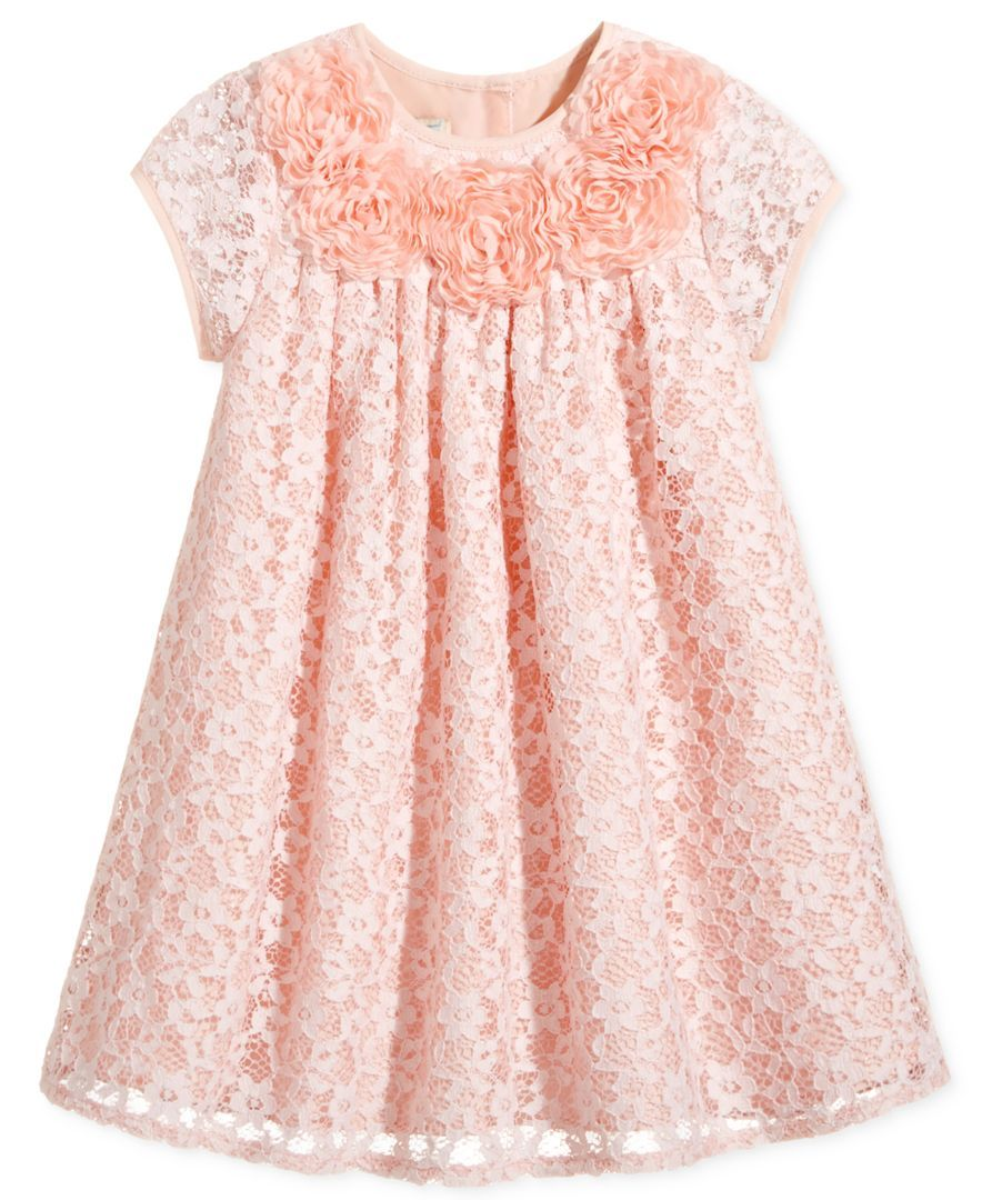 Lace dress for baby girl  Marmellata FloralLace Dress Baby Girls  months  Products