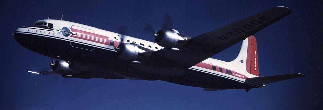 Douglas DC-6/C-118A Liftmaster Transport, 1946