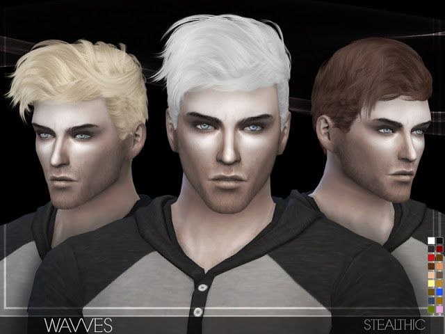 Sims 4 CC's - The Best: Hair for Male by Stealthic ...
