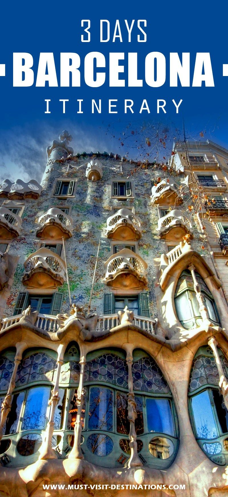 Only 3 days in Barcelona ? No problem! Check out this