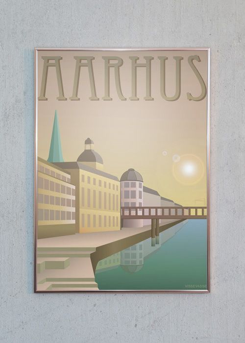 AARHUS - Åen er designet af Visse Vasse | Just Spotted