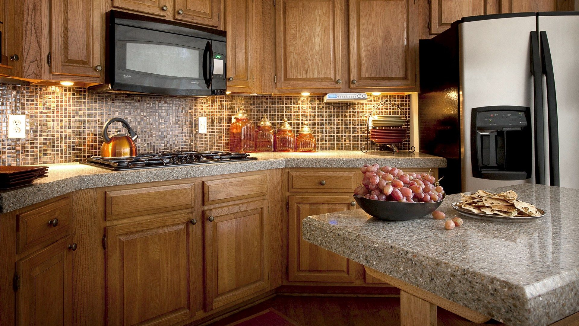 granite countertops ideas materials tile types painting granite ...