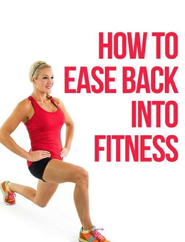 Ease Back Into Your Workouts With These Moves #howto #fitness