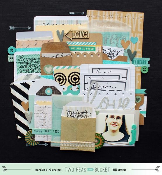 Scrap Your Stash: Love, Love, Love layering of envelops