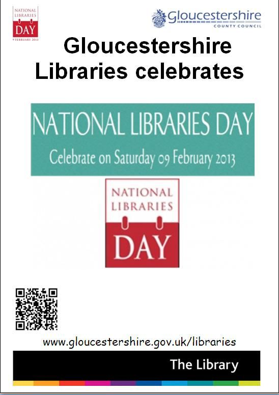 Gloucestershire Libraries celebrate National Libraries Day