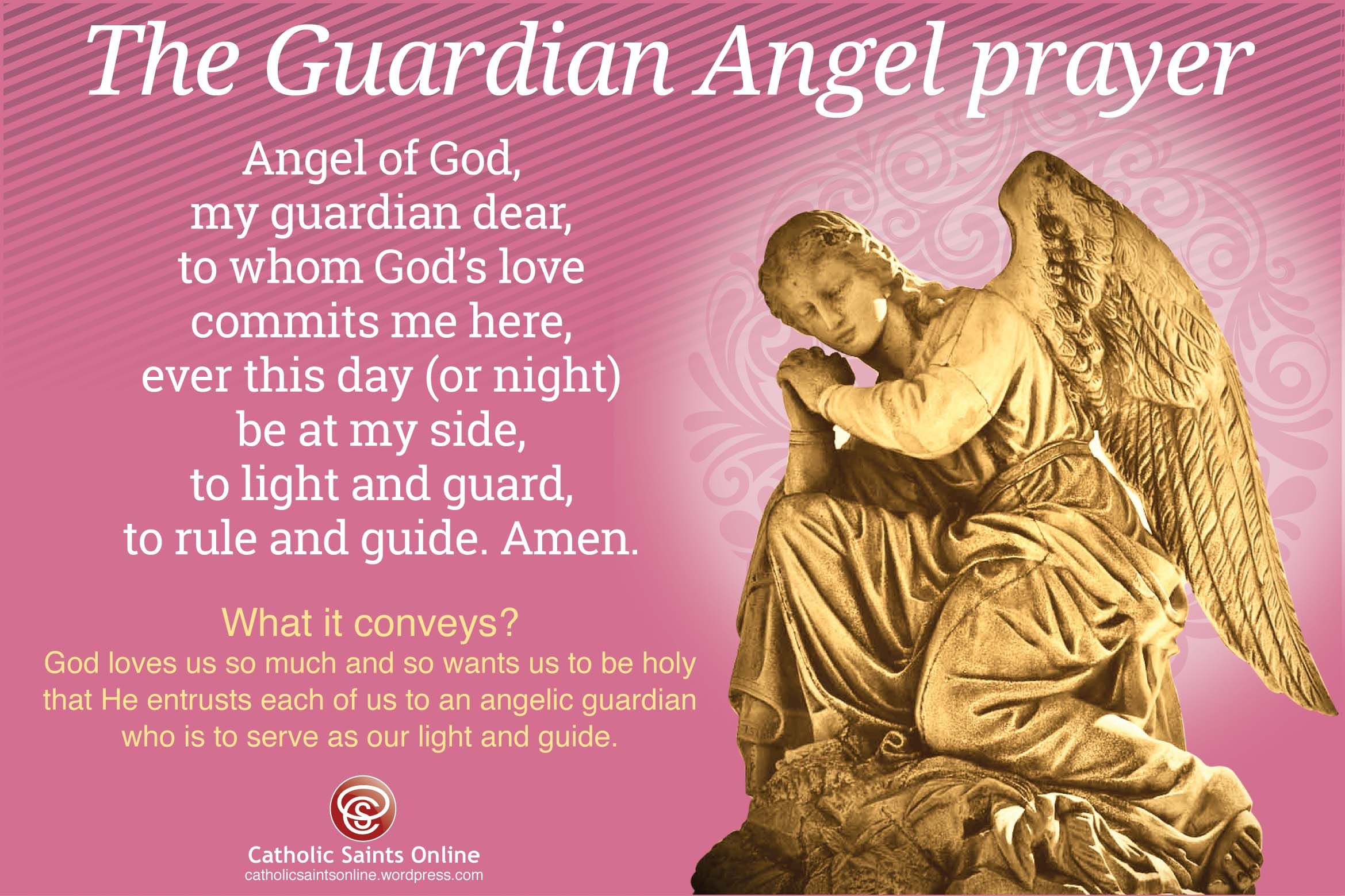 Image result for guardian angel prayer catholic