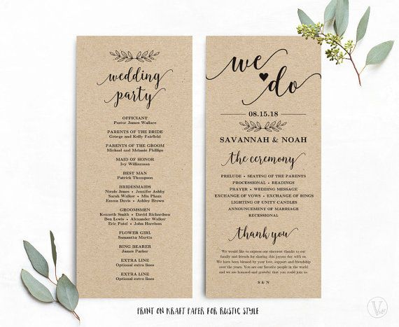 Pin By Jodi Gault On Tiny Tattoos Pinterest Program Template - Wedding anniversary program templates