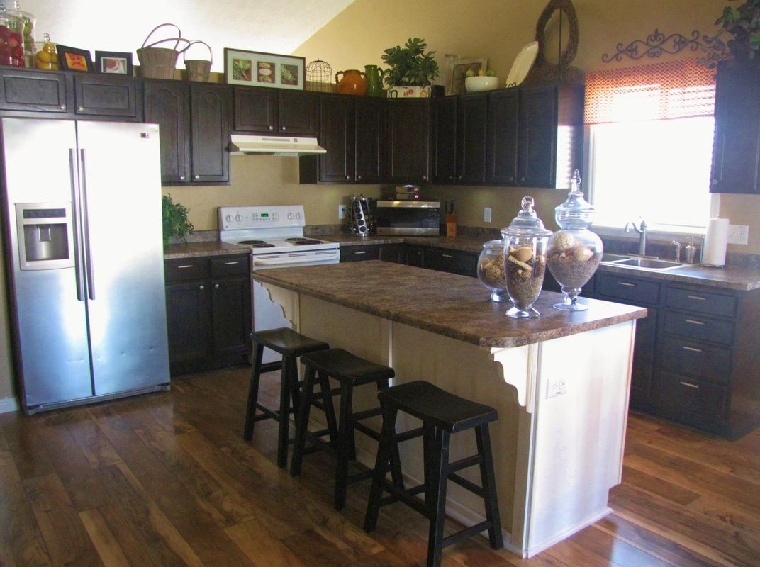 inexpensive kitchen makeovers simplehuman trash can builder grade makeover on a budget my projects