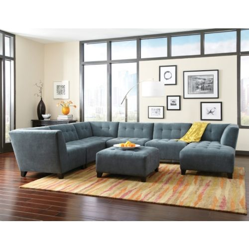 2500 Rambler 6 Piece Modular Sectional At Hom Furniture Hom