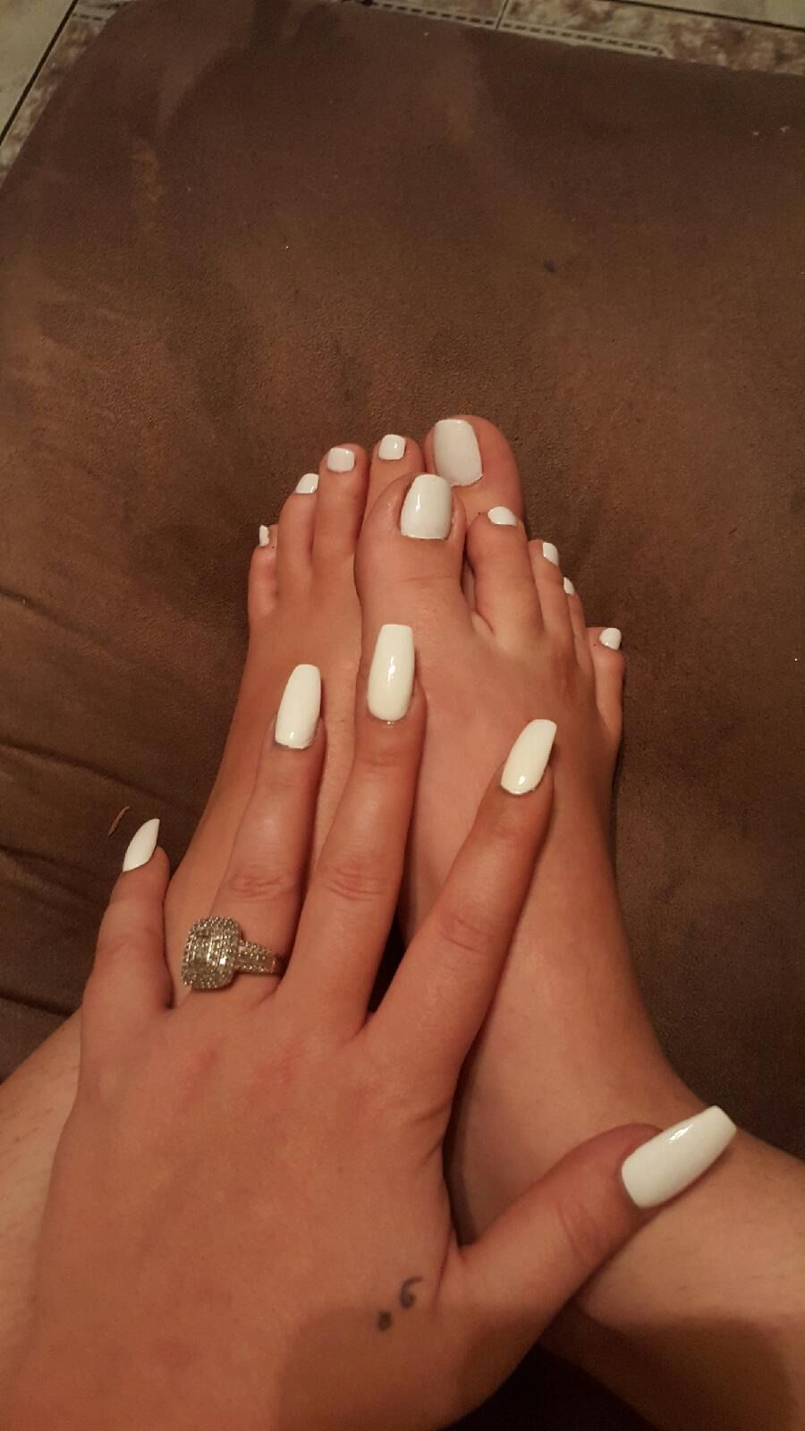 White manicure & pedicure | 6. Double Team + Dynamicpunch Knockout ...