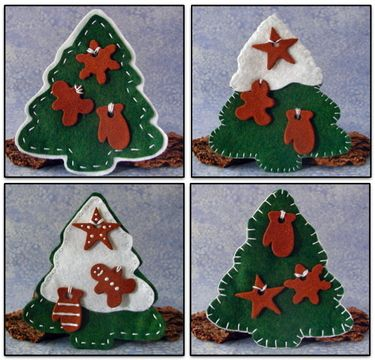 Cute felt and cinnamon ornaments Natal Pinterest Cinnamon