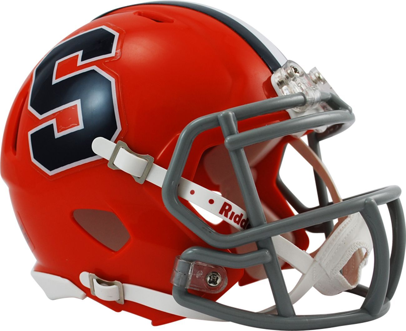 NCAA Syracuse Orangemen Speed College MINI CASCO Riddell AMERICAN FOOTBALL HELMET