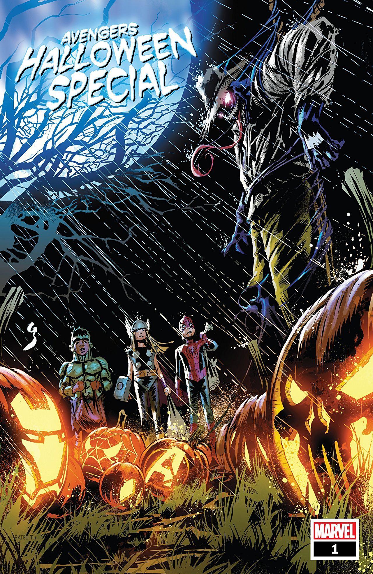 Avengers Halloween Special 2018 1 Vingadores Super Heroi E
