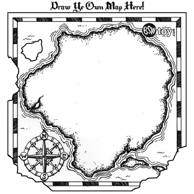 Tutorial para hacer invitaciones de mapa del tesoro. | Ylt ...