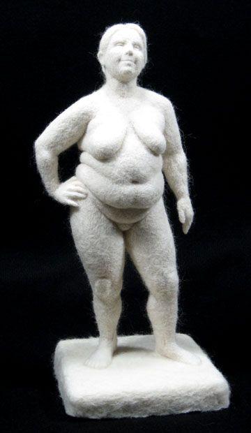 Stephanie Metz Venus Sculpture