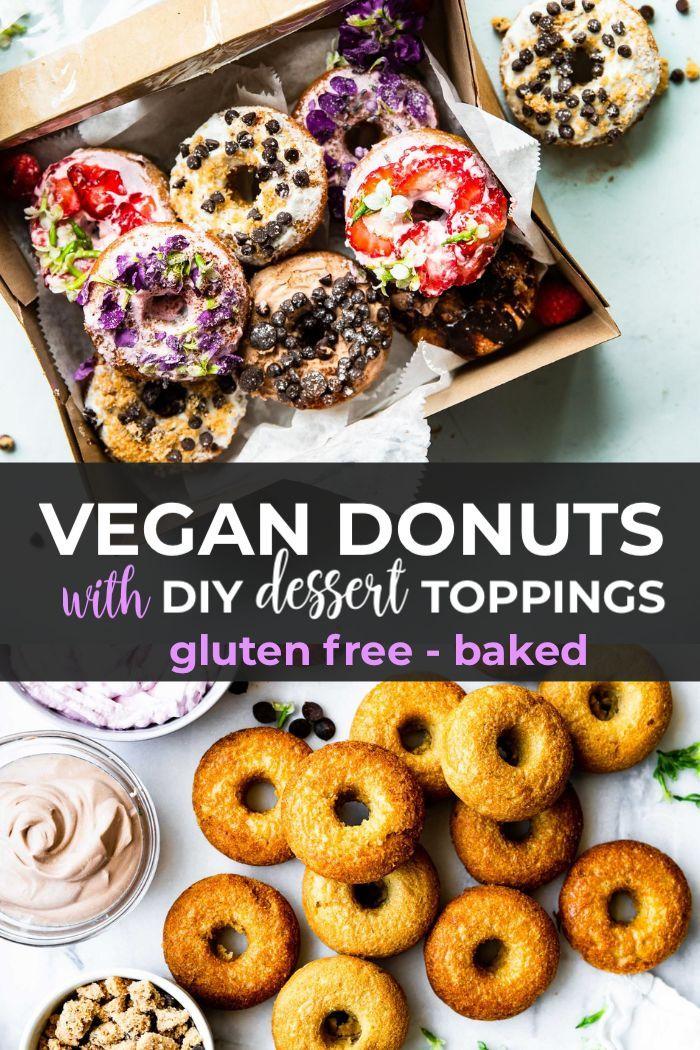 Diy Dessert Style Vegan Baked Donuts Gluten Free Recipe
