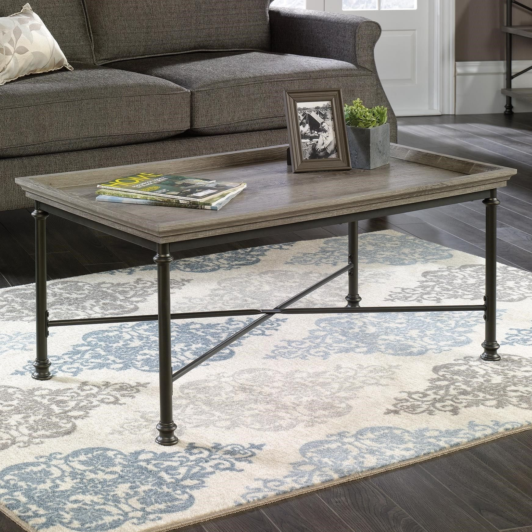 C Street Coffee Table By Sauder At Becker Furniture World