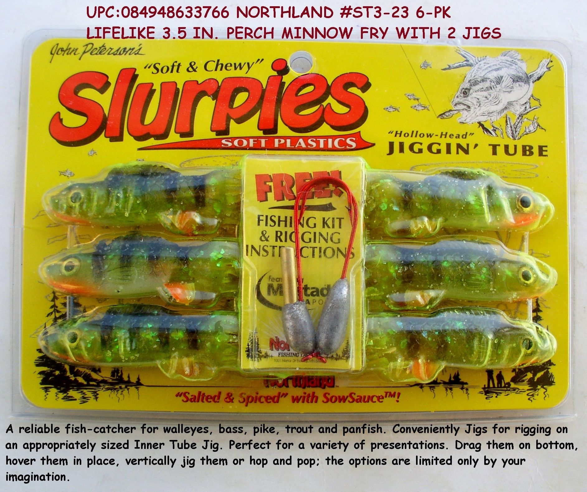 FINESSE 12 pc SET SALTY HOLLOW TUBES BASS JIG /& TUBE COMBO I//8 OZ