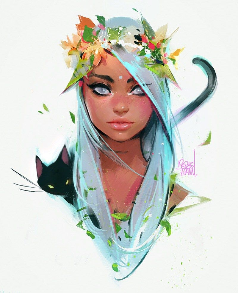 Inspirational Tuesday Artist #06 - Ross Tran aka RossDraws - Don Corgi #odyssÉe