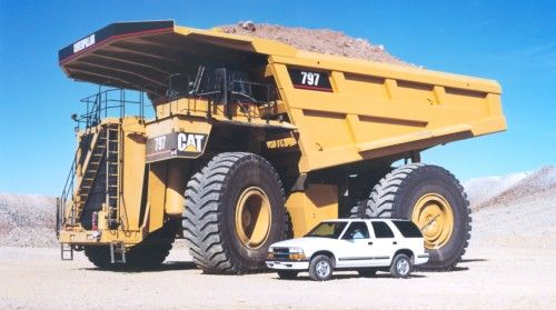dump truck 797 - rucks, ats and he o'jays on Pinterest