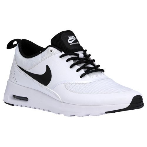 womens nike white air max thea trainers on biggest