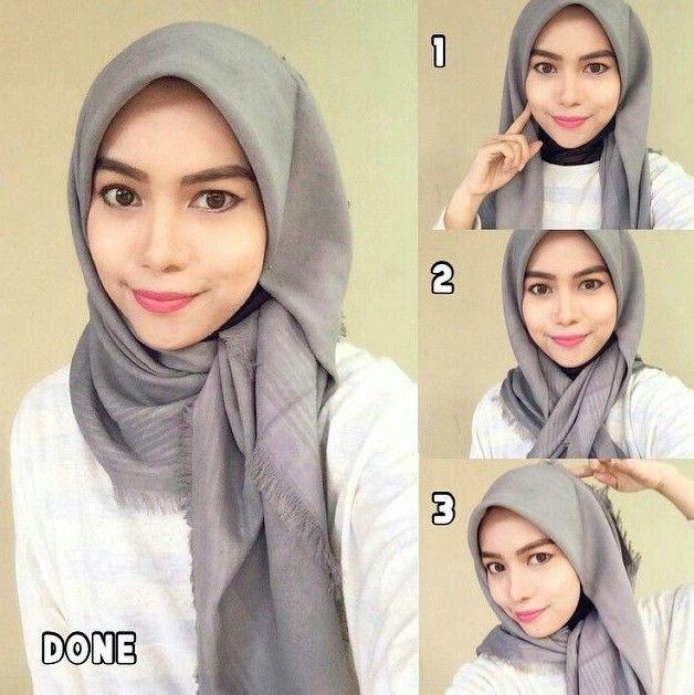 Tutorial Hijab Wisuda Simpel Dan Elegan Tutorial Hijab Mudah Hijab Chic Hijab