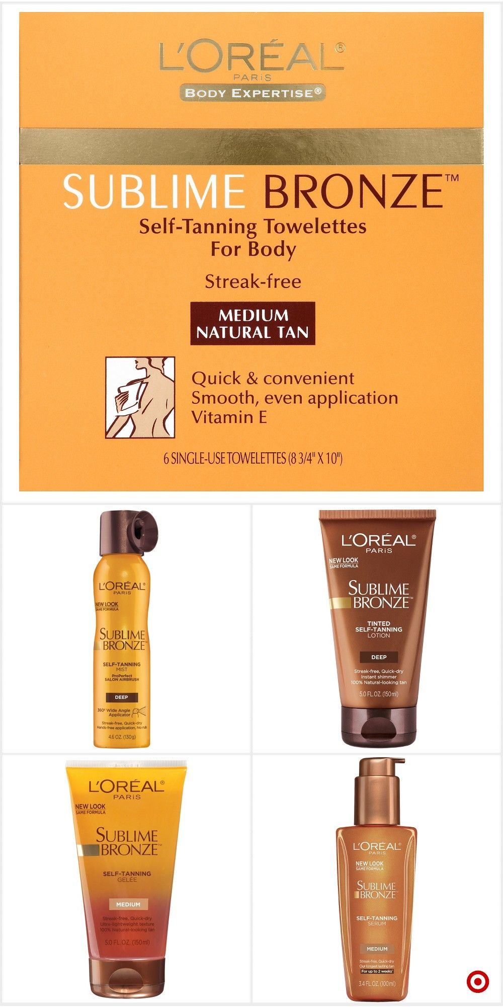 Shop Target for sunless tanning treatments you will love