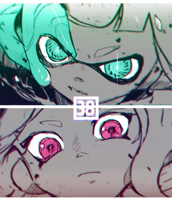 Splatoon Agent 8 X Agent 3 By よる Splatoon Yoru Twitter Con