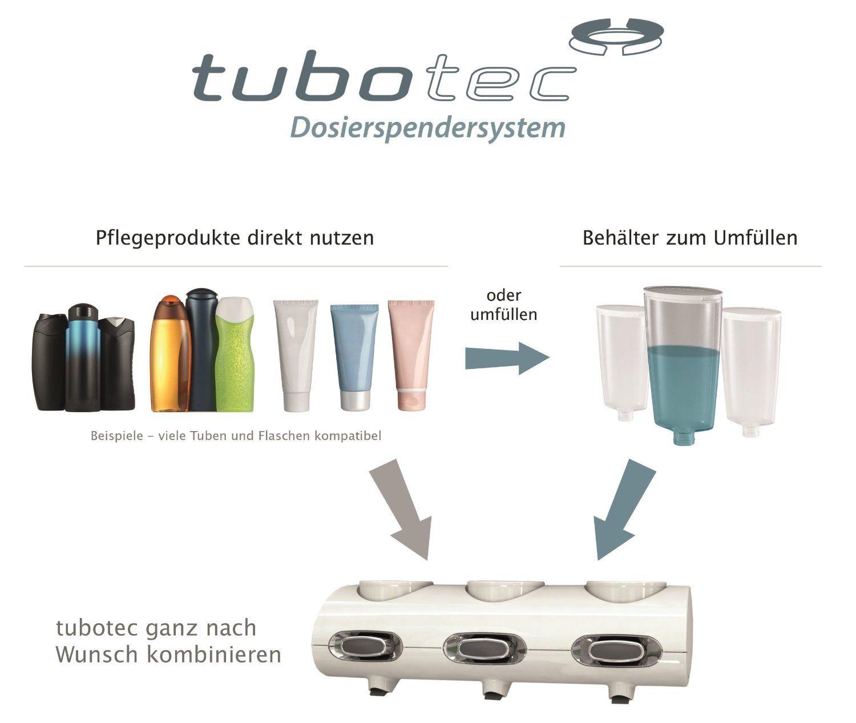 tubotec classic line bundle / Duschgelspender