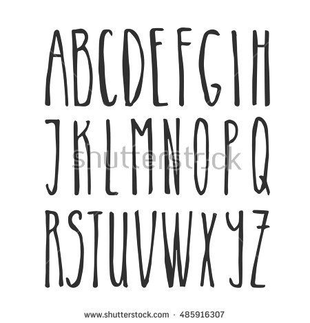 Image Result For Hand Lettering Alphabet