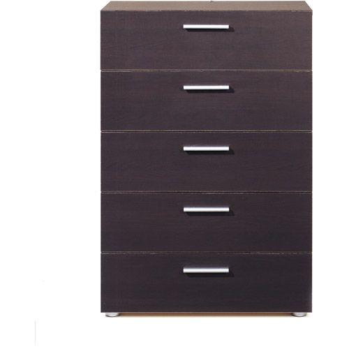 Loft Collection 5 Drawer Dresser Espresso Furniture Walmart Com Dresser 5 Drawer Dresser Drawers