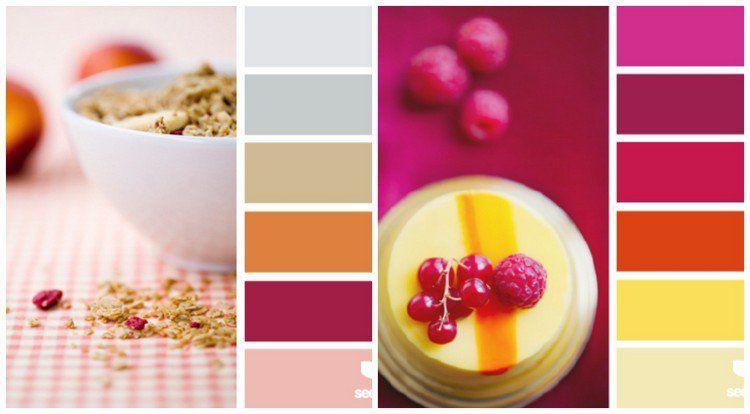Couleur pour cuisine 105 id es de peinture murale et fa ade cuisine deco couleur kitchen - Palette de couleur pour cuisine ...