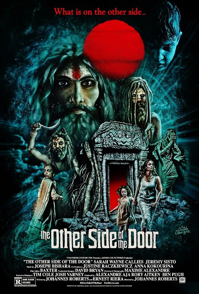 THE OTHER SIDE OF THE DOOR Doors movie, Movie posters