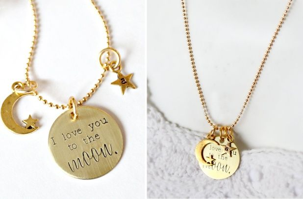 GroopDealz | I Love You To The Moon Necklace