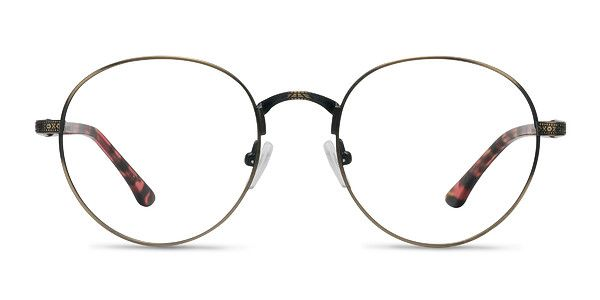 8494b63387 These Fitzgerald eyeglasses are the ultimate in sophistication. With  intricate metal detailing and tortoise temples