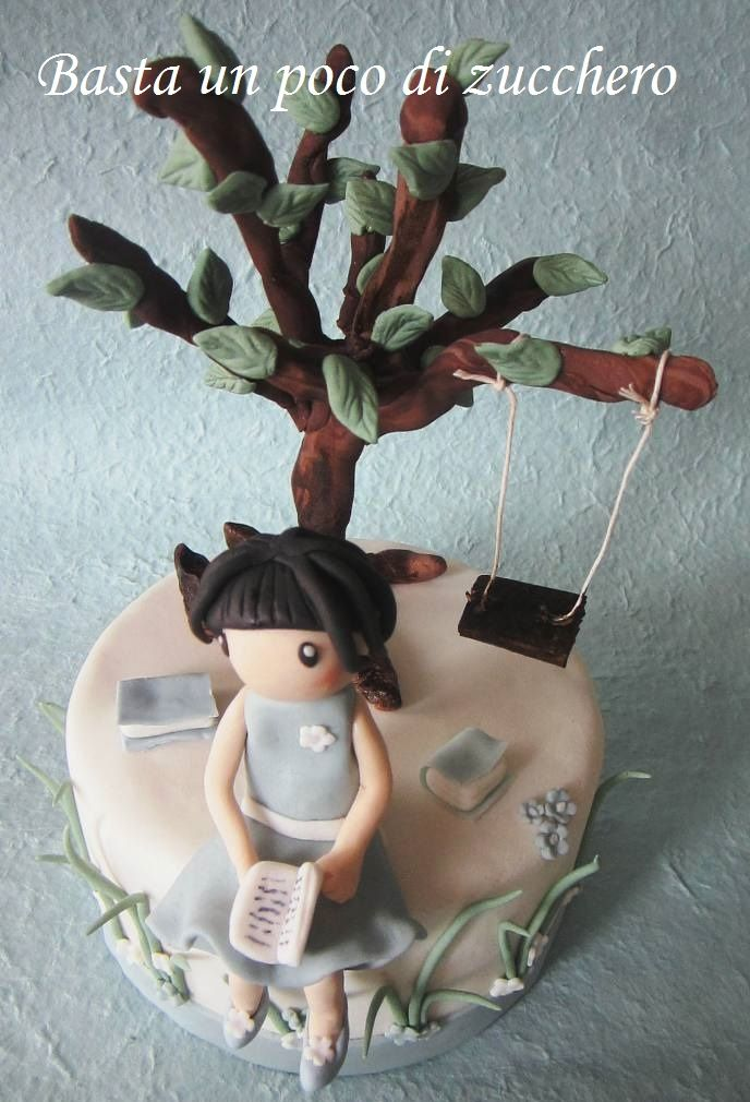 Cake Art By Suzanne : Gorjuss cake https://www.facebook.com/pages/Basta-un-poco ...