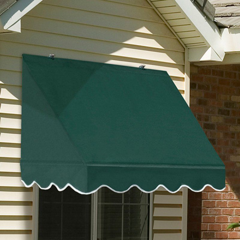 Awnings In A Box Traditional Awning 4 Ft Awnings At Hayneedle