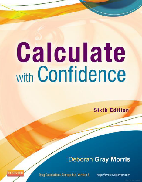 Calculate with confidence 6th edition by deborah morris pdf ebook calculate with confidence 6th edition by deborah morris pdf ebook this is a fandeluxe