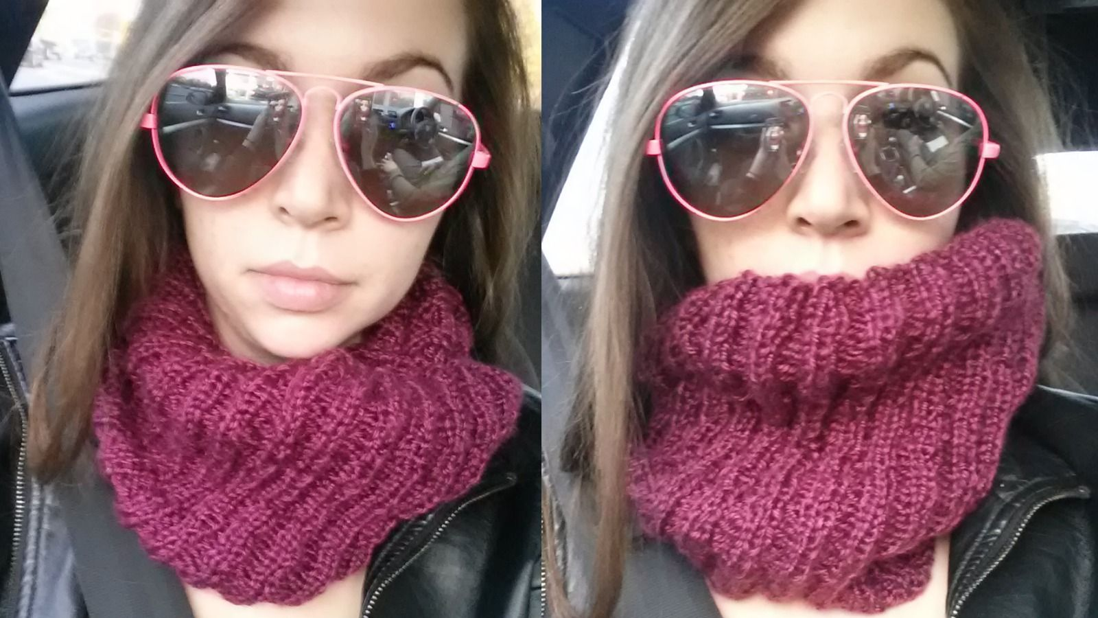 Infinity Scarf Or Cowl Knitting Patterns Knitting