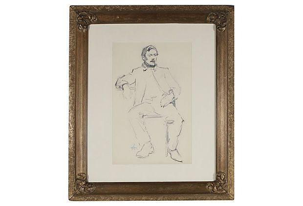1900s Portrait of a Gentleman on OneKingsLane.com