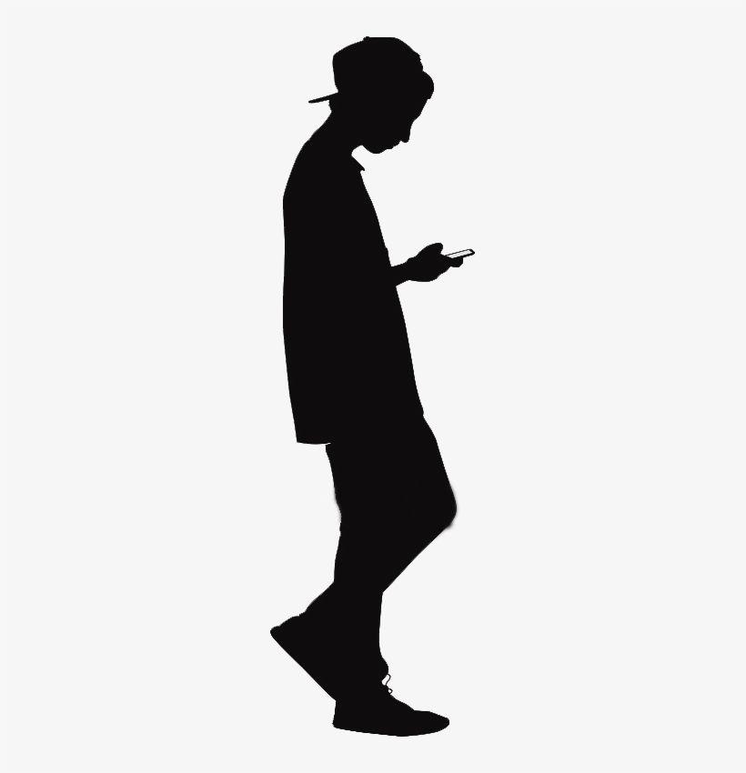 Download Free Png Teenager Silhouette Of Teenage Boy Free
