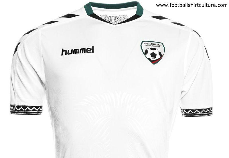 ffb2b49d7 Afghanistan 2016 Hummel Away Kit